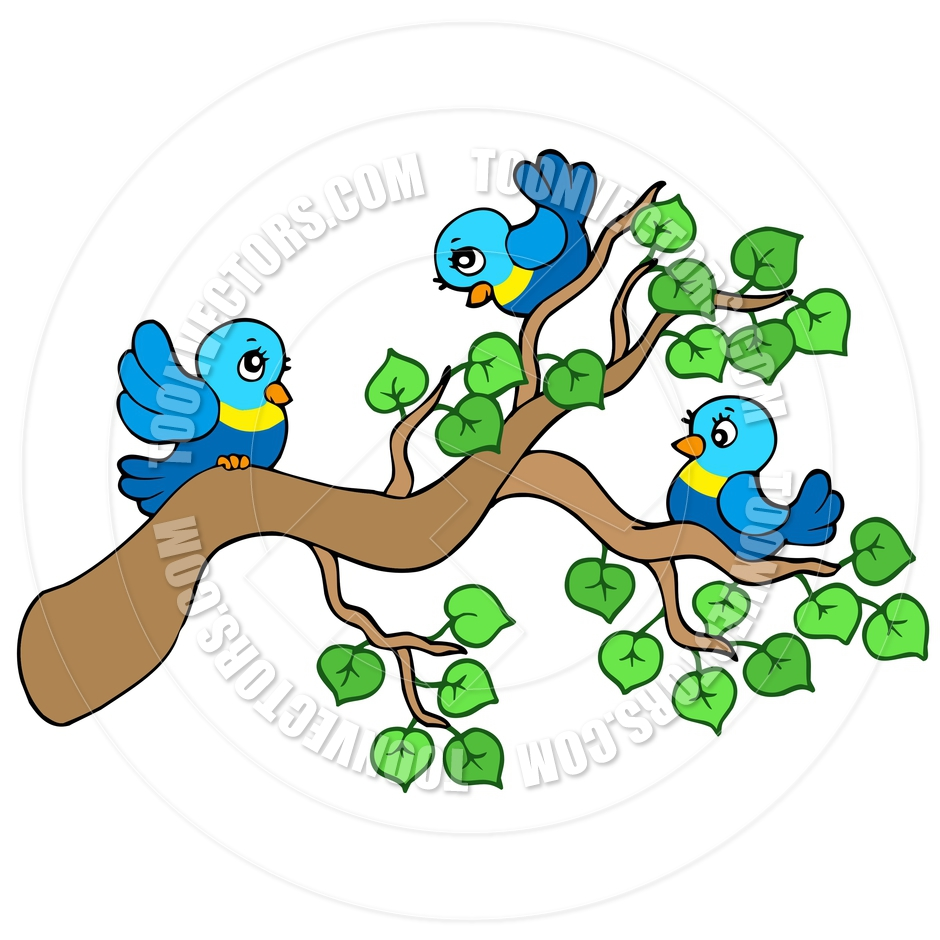 Birds sitting on tree clipart banner library library Bird On Branch Clip Art | Free download best Bird On Branch Clip Art ... banner library library