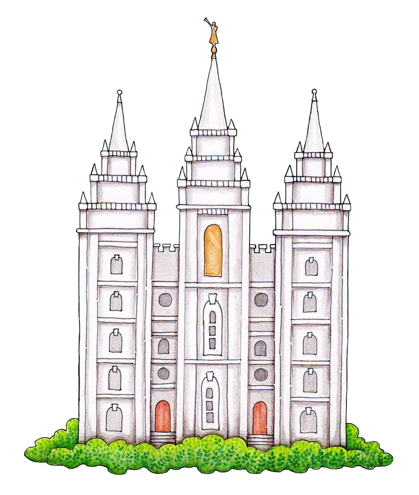 Logan Utah Temple Salt Lake Temple Latter Day Saints Temple Clip art ... png library library