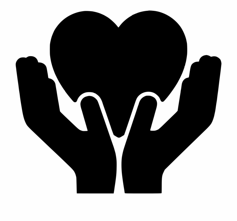Solidarity With The Birmingham Temple - Heart, Transparent Png ... clipart black and white stock