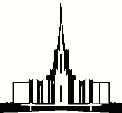 Free Salt Lake Temple Silhouette, Download Free Clip Art, Free Clip ... clip royalty free