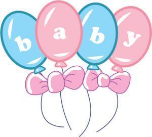 Clipart birth announcement
