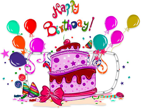 Free Birthday Clipart - Animated Birthday Clipart - Graphics clip free stock