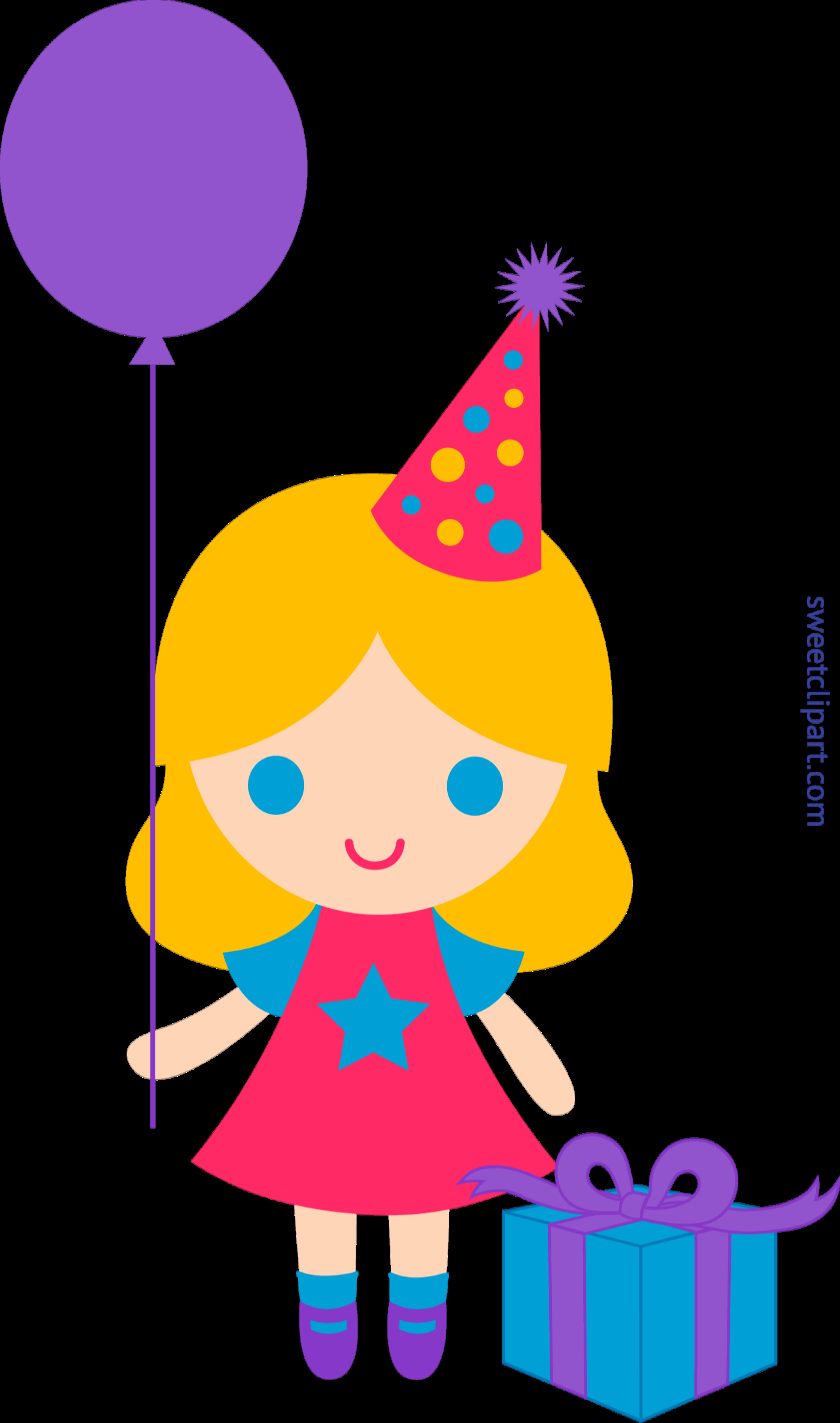 Birthday 2 with boy crown clipart jpg royalty free Birthday Girl Clip Art - Sweet Clip Art jpg royalty free
