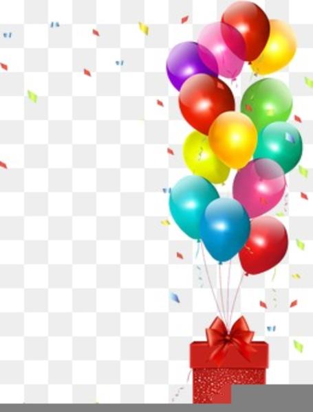 Birthday balloon clipart border clip art transparent library Birthday Balloon Clipart Border Free Images At Clker Com Vector ... clip art transparent library