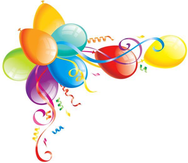Birthday balloon clipart border svg royalty free download Free Balloon Borders, Download Free Clip Art, Free Clip Art on ... svg royalty free download