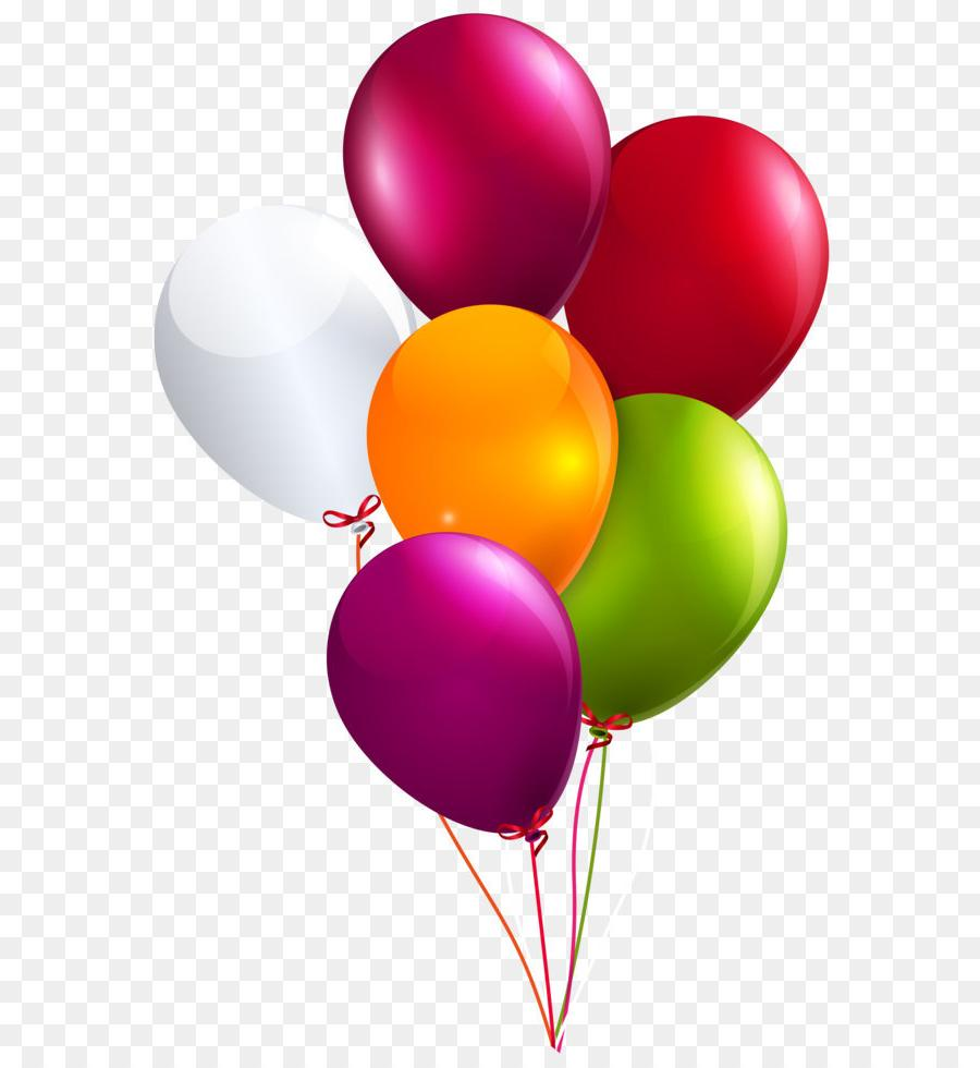 Free birthday balloon clipart png library Best Free Birthday Balloons Clip Art Library » Free Vector Art ... png library