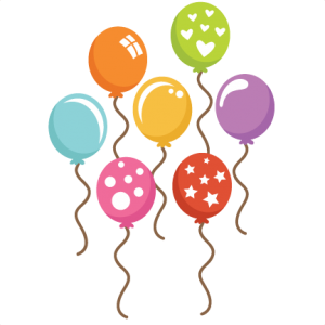 Birthday balloons clipart file jpg download Assorted Balloons SVG cut files balloon svg files birthday balloon ... jpg download