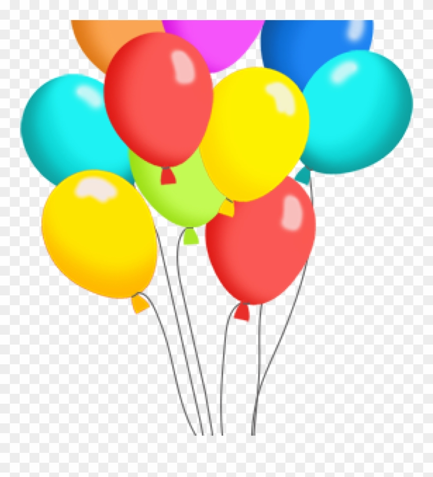Free balloons clipart image library library Birthday Balloons Clipart Free Balloon Clip Art Panda - Pack Of ... image library library