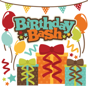Birthday bash clipart vector stock Birthday Bash SVG scrapbook file free svg files free svg cuts free ... vector stock