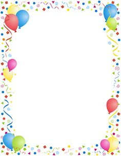 Birthday border clipart free svg library library 33+ Birthday Border Clipart | ClipartLook svg library library