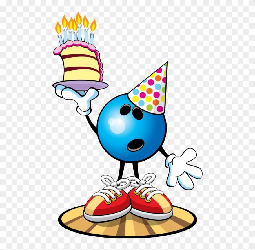 Birthday bowling clipart