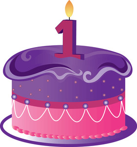 Birthday cake 1 clipart jpg library library Free Birthday Cake Clip Art Image - clip art illustration of a ... jpg library library
