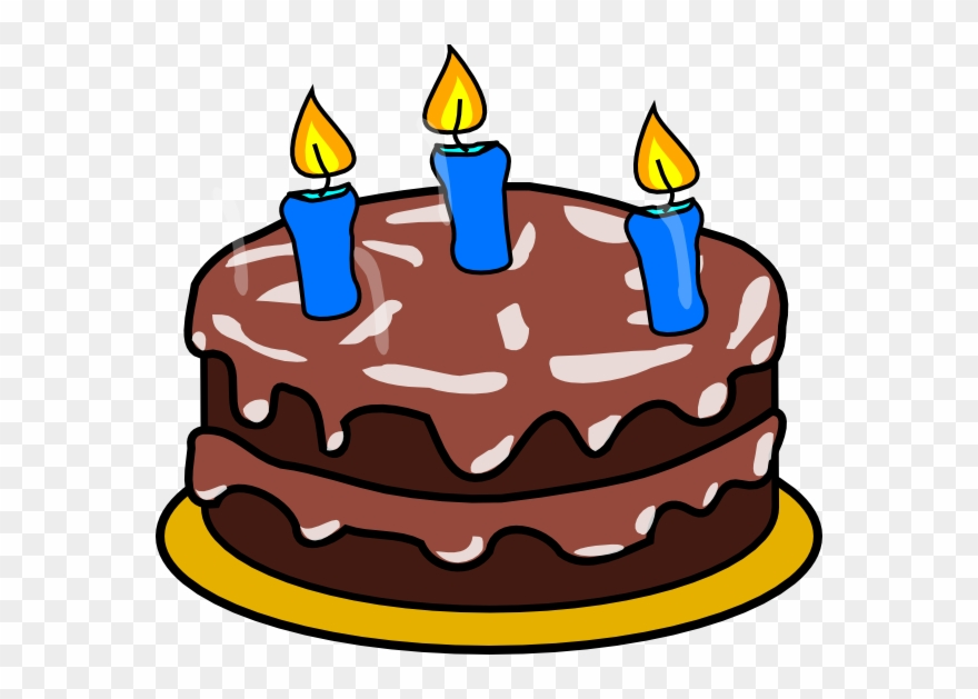 Birthday cake 18 candles clipart picture transparent stock Tart 20clipart - Birthday Cake Clip Art 3 - Png Download (#185196 ... picture transparent stock