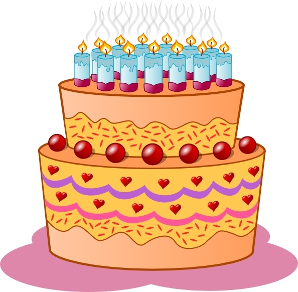 Birthday cake art clip svg free download Birthday Cake clip art Free vector in Open office drawing svg ... svg free download