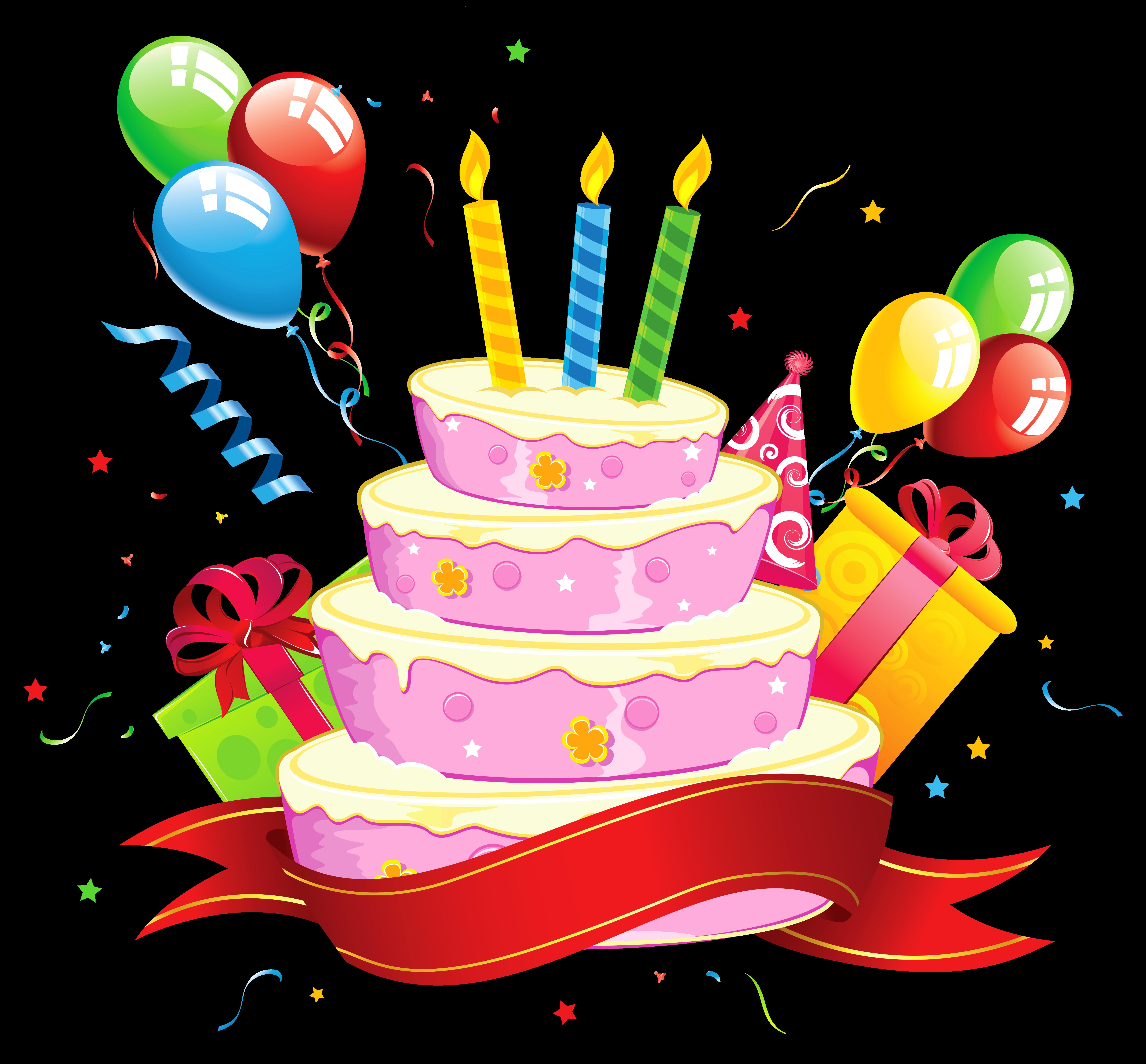 Birthday cake art clip clip art royalty free library Birthday cake Party Clip art - Birthday 6561*6091 transprent Png ... clip art royalty free library
