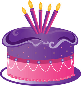 Birthday cake art clip jpg library Birthday cake art clip - ClipartFest jpg library