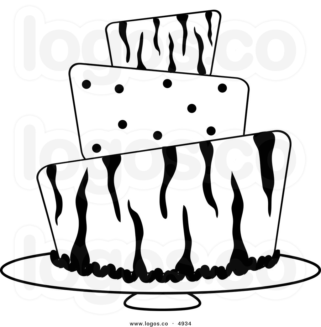 Birthday cake border clipart black and white image stock Dessert Border Clipart | Free download best Dessert Border Clipart ... image stock