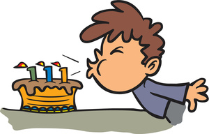 Birthday cake boy clipart graphic royalty free stock Birthday cake with candles for boy clipart - ClipartFest graphic royalty free stock
