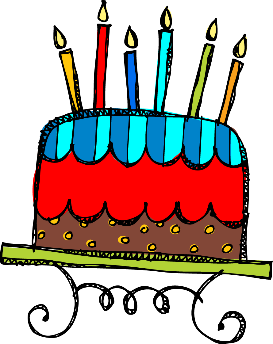Birthday cake graphics clip art clipart royalty free stock Birthday cake with candles for boy clipart - ClipartFest clipart royalty free stock