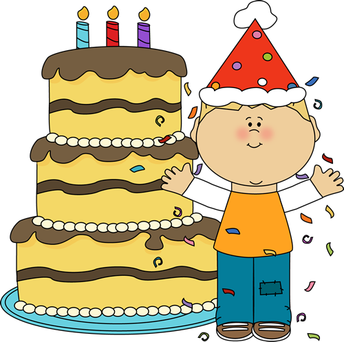 Birthday cake boy clipart. Clipartfest with and