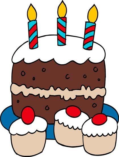Birthday cake boy clipart svg freeuse 3rd Birthday Cake Clipart - Clipart Kid svg freeuse