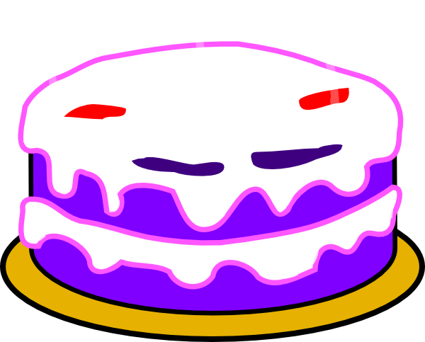 Birthday cake candle clipart clip royalty free download Clipart birthday cake no candles - ClipartFest clip royalty free download