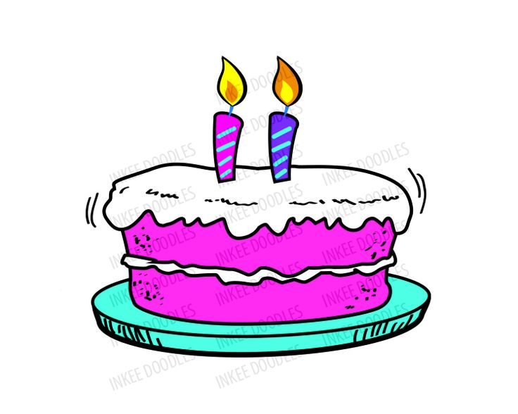 Birthday cake candle clipart clipart free stock Happy birthday cake with candles clipart - ClipartFest clipart free stock