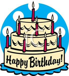Birthday cake candle clipart download Free clipart birthday cake with candles - ClipartFest download