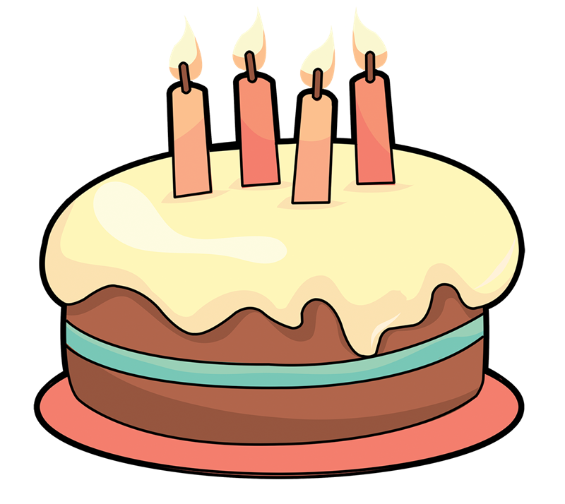 Birthday cake cartoon clipart png free Cake cartoon clipart - ClipartFest png free