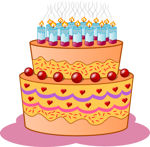 Birthday cake cartoon clipart clipart library Cartoon Cake Clipart - Clipart Kid clipart library