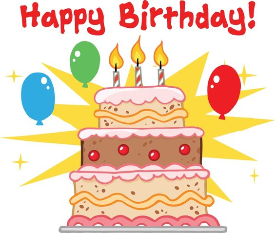 Birthday cake cartoon clipart vector black and white stock Happy Birthday Cake Cartoon http://www.happybirthdaywishesonline ... vector black and white stock