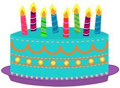 Birthday cake clip art free image freeuse download Birthday cake clipart free - ClipartFest image freeuse download