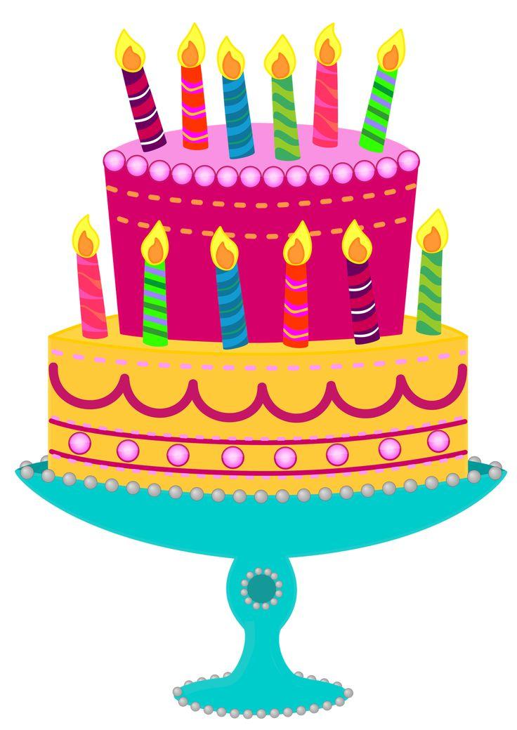 Birthday cake clip art free png transparent download Birthday cake clipart free - ClipartFest png transparent download