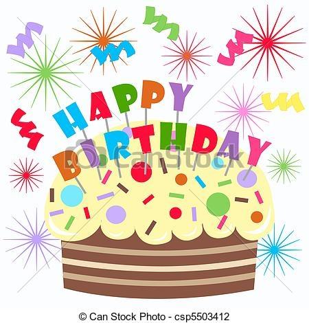 Birthday cake clip art free graphic transparent stock Birthday cake free clipart - ClipartFest graphic transparent stock