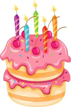 Birthday cake clip art images