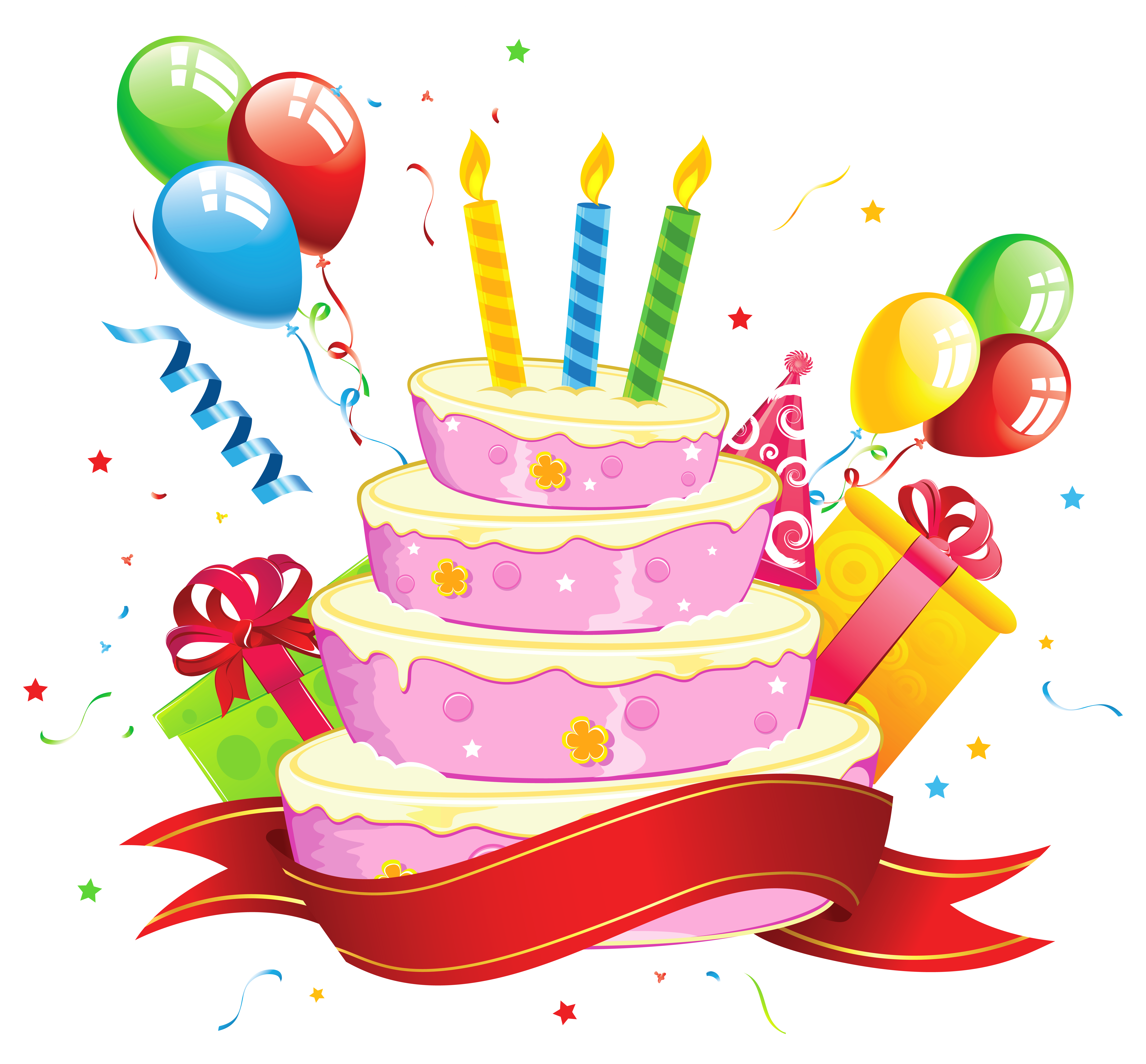 Birthday cake clip art pictures vector freeuse download Free photo: Birthday Cake Clipart - Pie, Clipart, Candles - Free ... vector freeuse download