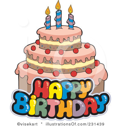 Birthday cake clip art pictures svg transparent stock Birthday cake clipart free - ClipartFest svg transparent stock