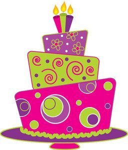 Birthday cake clipart svg transparent library Birthday cake clipart free - ClipartFest svg transparent library