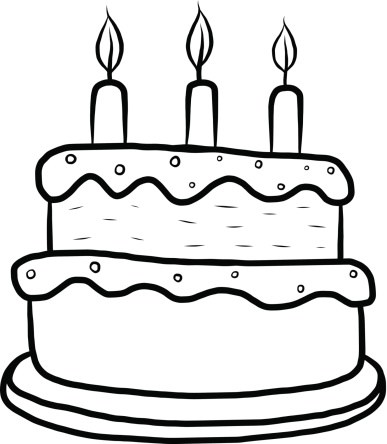 Black and white birthday cakes clipart svg Birthday cake clipart black and white 5 » Clipart Portal svg