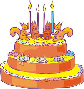 Animated Birthday Cake Clipart Activity 4660 - Clipart1001 - Free ... png library download