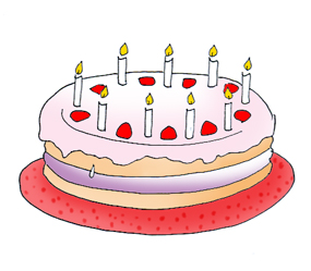Birthday cake clipart funny png freeuse download Birthday Clip Art and Free Birthday graphics png freeuse download