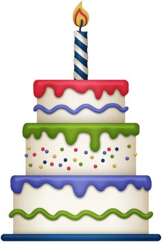 Birthday cake clipart images. Cute gallery free picture