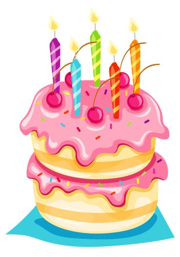 Cakes tube clip arts. Birthday cake clipart png