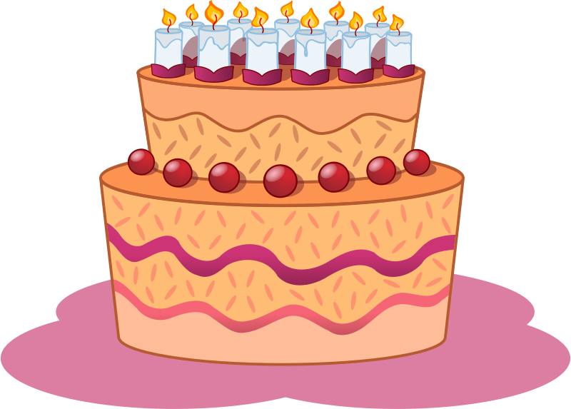 Birthday cake clipart png. Clipartfest view cakes in