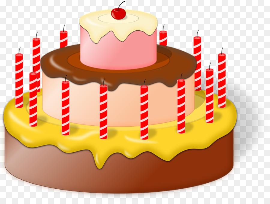 Birthday cake creative commons clipart vector library stock Birthday, Cake, Dessert, transparent png image & clipart free download vector library stock