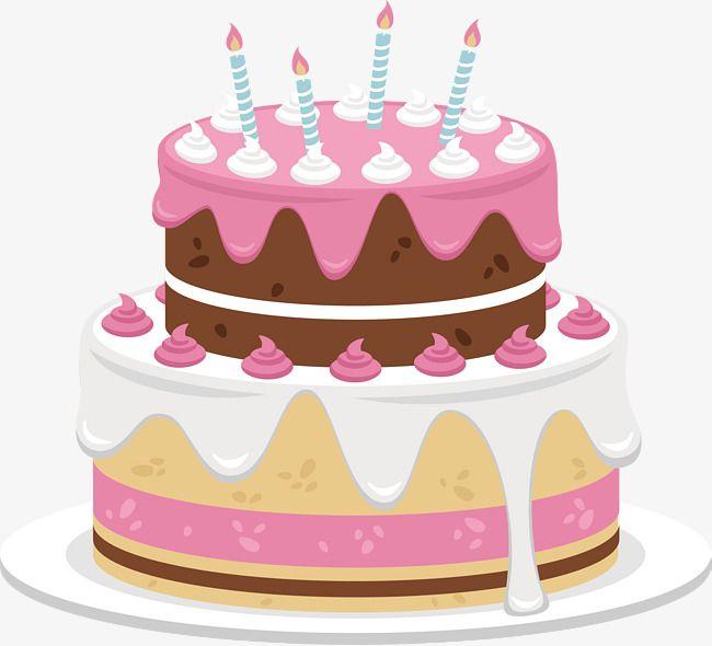 Birthday cake creative commons clipart clip black and white stock Sweet Chocolate Birthday Cake, Cake Clipart, Vector Png, Pink Cake ... clip black and white stock