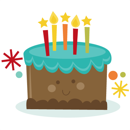 Birthday cake cute clipart svg library download Birthday cake cute clipart - ClipartFest svg library download