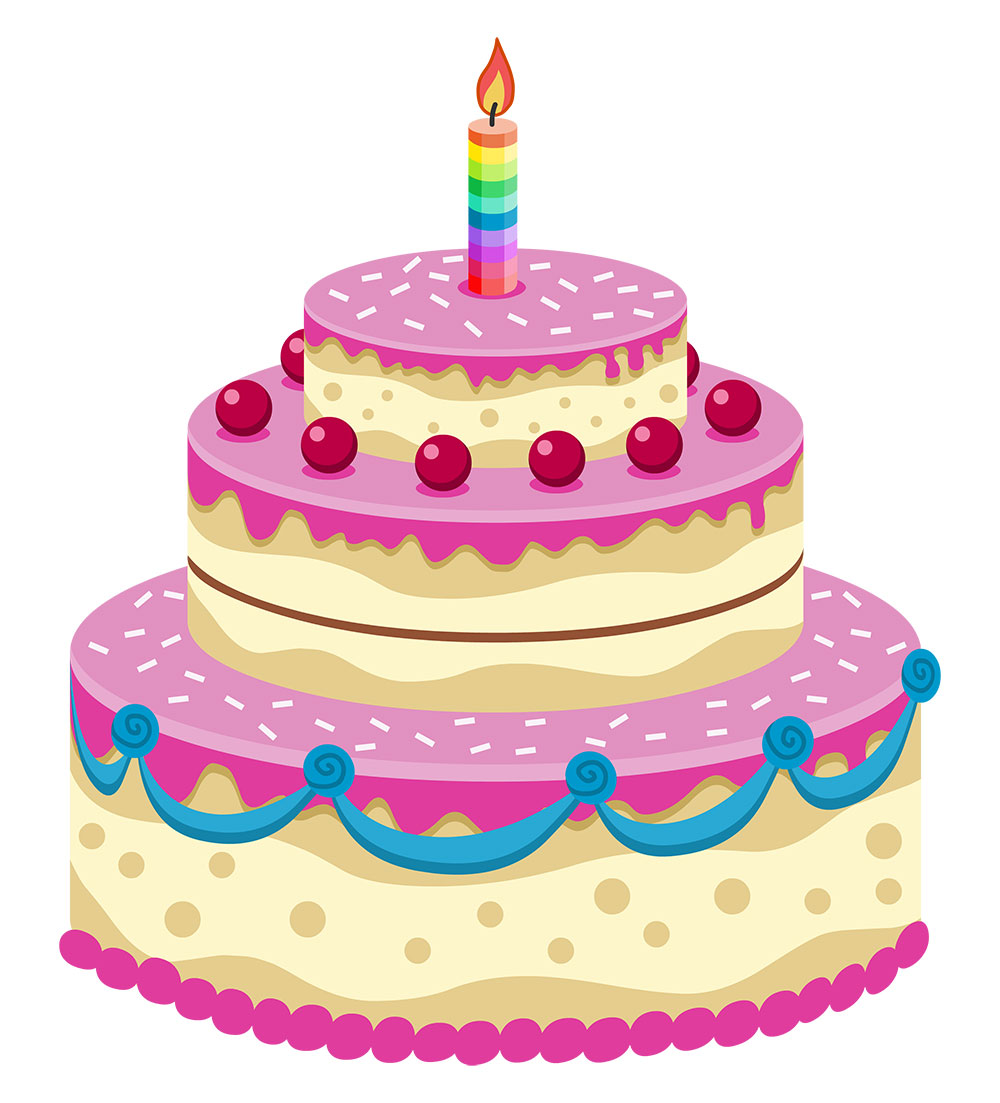 Birthday cake cute clipart banner royalty free Birthday Cake Cute Cartoon. Birthday. Free Images Birthday Cakes ... banner royalty free