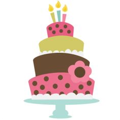 Birthday cake cute clipart png library download Cute Birthday Cake Clipart | Gallery Free Clipart Picture… Cakes ... png library download