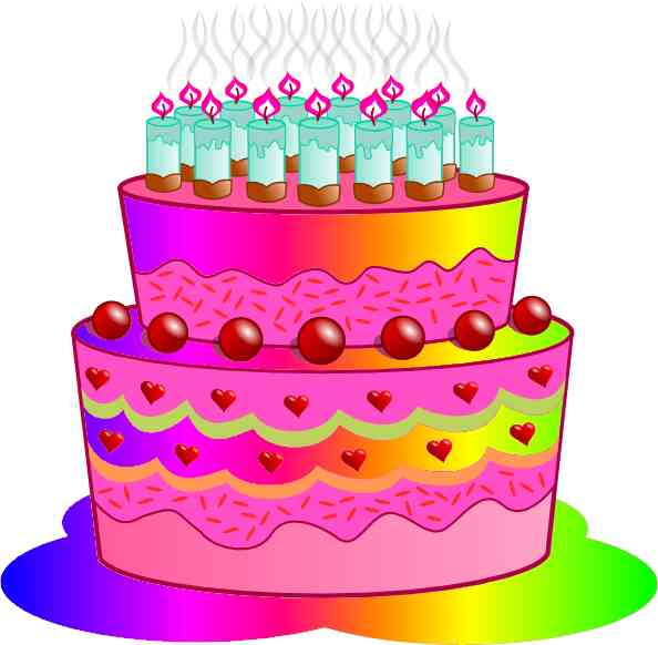Birthday cake graphics clip art clip freeuse Birthday cake graphics clip art - ClipartFest clip freeuse